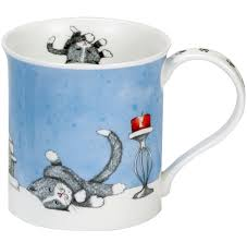 Dunoon-Bute-Contented Cats-Tasse-Mug