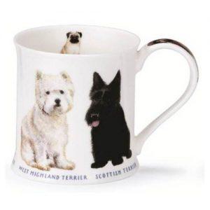 Dunoon-Wessex-Westie-Skotch-Yorkshire-Fox-Mug-Tasse