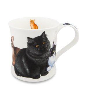 Dunoon-Wessex-Cats-Kittens-Mug-Tasse-Tee-Kaffee