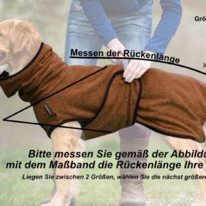 Dryup-cape-bademantel-hund-grössentabelle