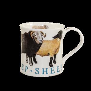 Dunoon-Wessex-Farm-Animals-Sheep-Mug-Tasse