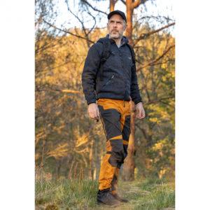 Arrak-Outdoor-Pants-Hosen-Stretch-Hund-Hundebekleidung-Hundesport-Outdoorbekleidung-Active-Stretch-Pants-Women-goldschwarz-3-Beinlaengen1