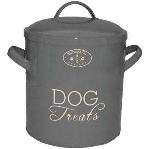 Banbury&Co., Vorratsdose, Hund, Dog, grau, Kauartikel, Kekse, Vintage, Shabby