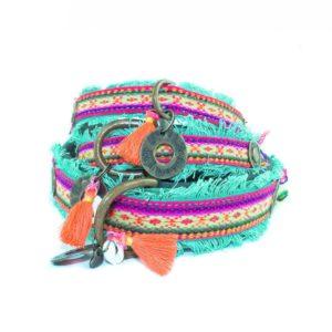 DWAM-Dog-with-a-mission-Halsband-Collar-Lola-Boho-Ibiza-Vintage-Hippie-trendig-Hund-Hundehalsband-gruen-rot-vegan-2.jpg