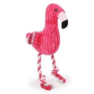 Flamingo-dog toy-Squeeker-pink
