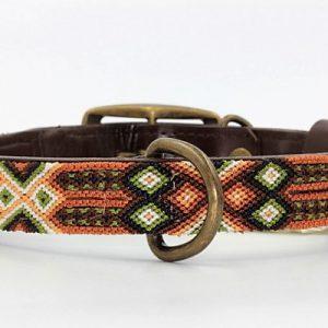 Heka Pet-Halsband-Boho-Ibiza-Hippie-farbig-Stylish-Hund-Otami