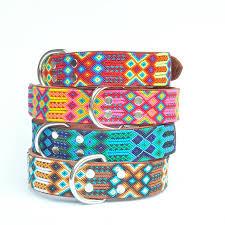 Heka Pet-Halsband-Boho-Ibiza-Hippie-farbig-Stylish-Hund