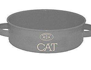 Katzenfressnapf, Fressnapf, grau, Vintage, Shabby, Katze, Cat
