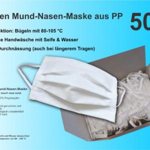 Mundschutz-Masken-Polypropylen-wiederverwendbar-made-in-eu-hautverträglich-biologisch-inert-Corona-COVID-19-weiss-hoher-Tragekomfort