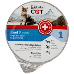 Natura Cat_Rind_Katzenfutter_Futter_Schweizer Qualitaet_Portionen_hochwertig