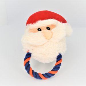 Pfoetil-Shop-Geschenk-Hundespielzeug-Dog Toy-XMas-Weihnachten-Santa-rot-festlich-1