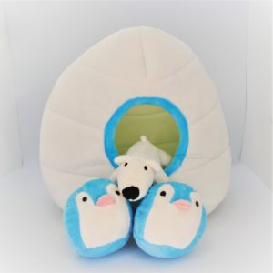 Pfoetil-Shop-Geschenk-Hundespielzeug-Dog Toy-XMas-Weihnachten-iglu-weiss-festlich