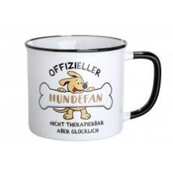 Pfoetli Shop-Gilde Handwerk-Geschenk-Tasse-Becher-Emaile-offizieller Hundenfan-weiss-Hund-Hundefan.JPG