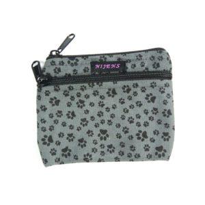 Portemonnaie-Baumwolle-Pfoten-Pfoetchen-Indien-Fairtraide-Pfoetli-Shop-Nijens-bedruckt-grau-Nijens-Stoff-Portemonnaie-NJ-0448