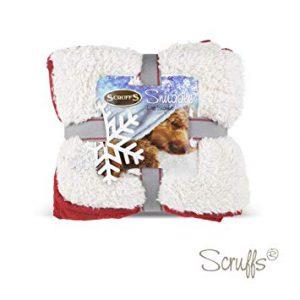 Scruffs-Snuggle Blanket-Hund-Winter Wonderland-weich-kuschelig-warm-beidseitig verwendbar