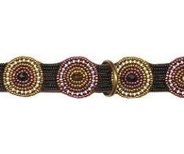 Simomilano-Hundehalsband-Perlenhalsband-Afrika-Masai-Handwerk-Kunsthandwerk-gold-braun