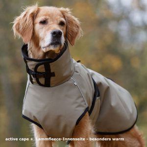 active-cape-header-Hundemantel-warm-gute passform-Auto-unterwegs
