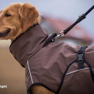 active-cape-light-header-Hundemantel-Regenabweisend-Windabweisend-Wetterfest-wärmend-beige