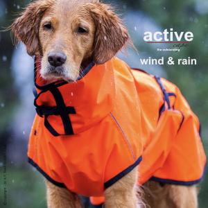 active-cape-wind-rain-orange-dark blue-action factory-regenmantel-hund-windabweisend-wetterfest-hundemantel