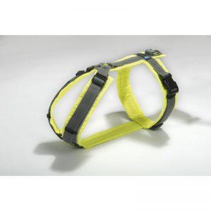 AnnyX-Brustgeschirr-Protect-Mantrailing-Hund-Geschirr-leuchtgelb-grau