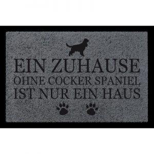 fussmatte-tuermatte-ein-zuhause-ohne-cocker-spaniel-hund-spruch-viele-farben-dunkelgrau