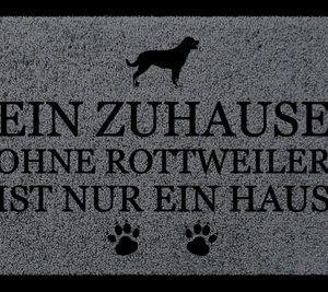fussmatte-tuervorleger-ein-zuhause-ohne-rottweiler-hund-einzug-geschenk-flur-dunkelgrau