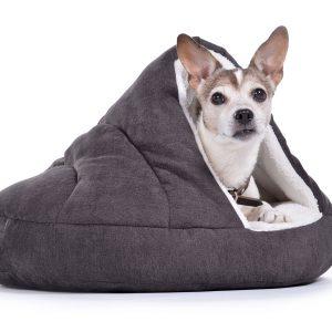 shell-hundebett-katzenbett-kuschlig-warm-komfortabel-hoehle-braun
