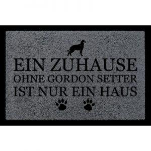 tuermatte-fussmatte-ein-zuhause-ohne-gordon-setter-hund-haustier-viele-farben-dunkelgrau
